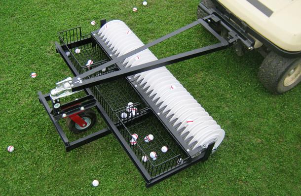 In Line Golf Ball Picker Hollrock Engineering