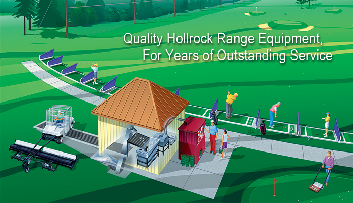 Hollrock Engineering quality golf range equipment