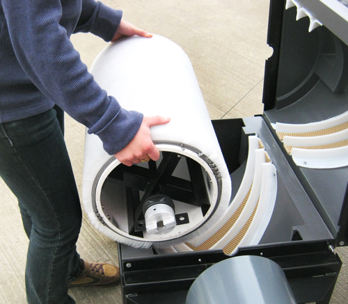 Commercial Golf Ball Washer Hollrock Engineering
