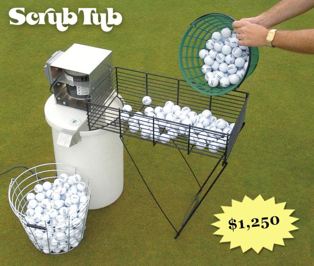 Scrub Tub Golf Ball Washer Hollrock Engineering